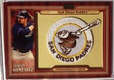 2011 Topps Commemorative Patch SER. 1  #TLMP-AG ADRIAN GONZALEZ San Diego PADRES