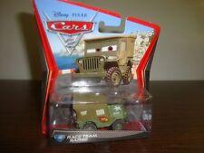 Disney---Cars 2---Race Team Sarge---#15---Diecast---2010