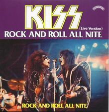 ★☆★ CD Single KISS Rock And Roll All Nite Live Version 2-track CARD SLEEVE  ★☆★