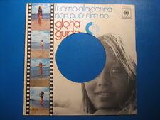 """GLORIA GUIDA """"L'uomo alla donna non può..""""COVER FORATA - ATTRICI SOUBRETTE"""