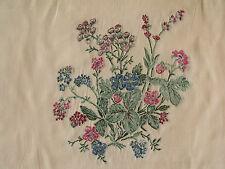 Kravet Meadow Bouquet Golden Coin Floral Embroidery MSRP $216/y