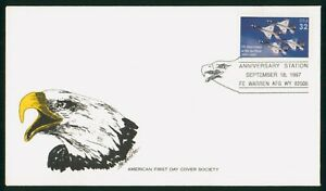 MayfairStamps US FDC Unsealed 1997 Department of Air Force Anniversary First Day