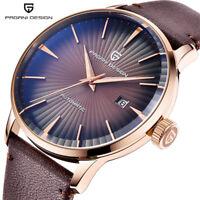 PAGANI DESIGN Luxury Men's Automatic Self-Wind Wrist Watch Waterproof Watches