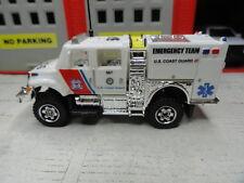 MATCHBOX FIRE USCG INTERNATIONAL BRUSH EMERGENCY TEAM CUSTOM KITBASH UNIT