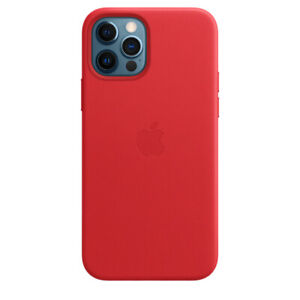 """Red Apple Original MagSafe Leather Case Cover for iPhone 12 Pro Max 6,7"""""""