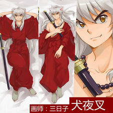 Japan Anime Inuyasha Male Dakimakura Hug Body Bedding Pillow Case Cover 150cm