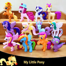 12 My Little Pony Action Figures Kids Girl Toy Dolls Cake Topper Car Home Decor