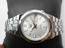 EXCELLENT SS SEIKO 5 CAL 7S26 SEE THROUGH JAPAN GENTS MENS AUTOMATIC WRISTWATCH