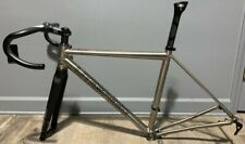 Litespeed T2 Titanium Disc Road Frame Small / 52.5cm w/ headset, stem, seatpost