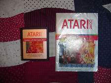 Raiders Of The Lost Ark Atari 2600 Vintage Game Used With Directions Booklet