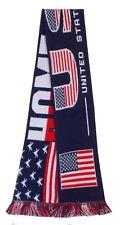 USA Soccer Football Basketball Hockey National Scarf - Made in the UK