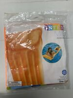 "New, Sealed, Rare, Intex Economat Pool Inflatable Orange Mat 72""x27"" For Adults"