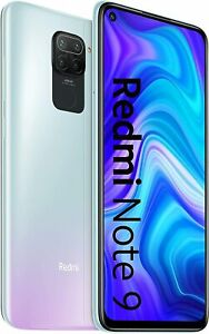 "Xiaomi Redmi Note 9 - 128GB - Polar White  (Unlocked) (Dual SIM) 4GB/128GB ""NEW"""