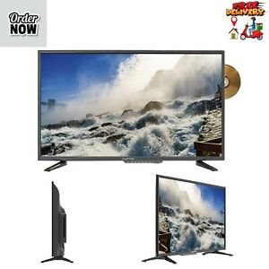 """Sceptre 32"""" Class 720P HD LED TV with Built-in DVD Player E325BD-SR"""