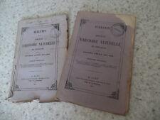 1873.Bulletin histoire naturelle Toulouse.Pyrénées .Trutat.Magnan.Cartailhac