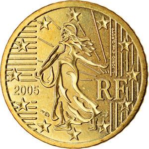[#766508] France, 50 Euro Cent, 2005, SUP, Laiton, KM:1287