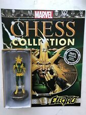 MARVEL CHESS COLLECTION ISSUE 13 ELECTRO EAGLEMOSS FIGURINE + MAGAZINE
