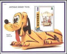 Guyana 1996 GIOCATTOLI ANTICHI DISNEY/Carosello/Mickey/Treno/Cane/Plutone 1 V M/S (b408)