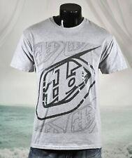 TLD Dotted Logo Design TROY LEE DESIGNS Shirt Sz M Gray