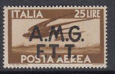 TRIESTE : 1949 AIR 25L yellow-brown SG 22 mint