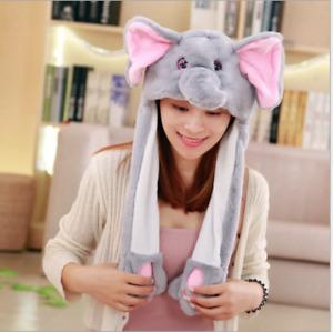 Animal Style Cute Ears Wavy Hat Halloween Christmas Costume Ears MOVE by Itself