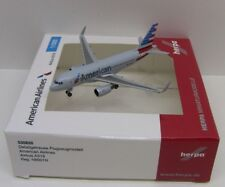 Herpa Wings American Airlines Airbus A319 Registration N8001N 1/500 HE530835