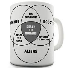 Zombie Vendiagram Funny Mug