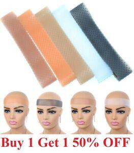 Headband Supplies Non-Slip Fix Elastic Hair Silicone grip wig Band Adjustable US