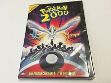 Pokémon the Movie - 2000 DVD (Original Release SNAPCASE Brand NEW) FREE US SHIP