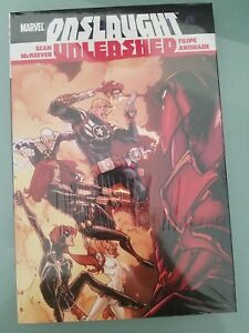 ONSLAUGHT UNLEASHED HARDCOVER BOOK MARVEL COMICS BRAND NEW FACTORY SEALED
