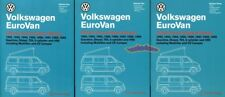 Eurovan Volkswagen Shop Manual Service Repair Book Bentley Vw Workshop 92-99 Set