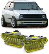 YELLOW FOG LIGHTS FOR VW GOLF MK2 MK 2 II GL MODEL NICE GIFT