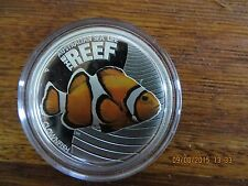 2010 Reef  1/2oz Silver Coin  - Clownfish. Absolutely beautiful