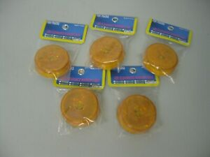 """RV Bus Truck 13 LED Amber Diamond Clearance Lights 2.5"""" Round VS-L14Y-2 Lot of 5"""