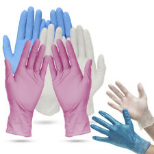 Nitrile Powder Free Disposable Gloves, Pack of 100