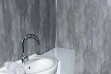 Loft Concrete Bathroom Wall Cladding Waterproof PVC Panels Packs Of 10 & 12