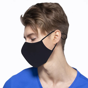 Brand New Three Layer Washable Reusable Cotton face Mask For Adults