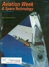 1981 Aviation Week & Space Technology Magazine: USAF KC-10 prepares refuel C-5A