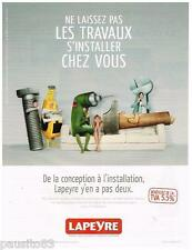 PUBLICITE ADVERTISING 095 2009  Les MAGASINS LAPEYRE