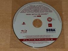 Viking Battle for Asgard PS3 Playstation 3 Rare Promo Disc Full Game