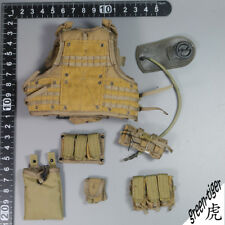 A202 1:6 Scale ace Military action figure parts - AWS CQB vest w/ pouches Coyote