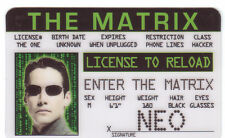 Phone Line Hacker NEO the MATRIX  Keanu Reeves Drivers License  	The Wachowskis