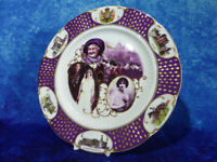 HRH The Queen Mother AYNSLEY Fine Bone China PLATE, Celebrate Life Of, Ltd 5000
