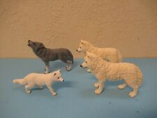 Schleich Canines lot of 4