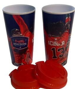 Atlanta Braves Soring Training Cups Tumblers