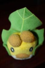 "My Pokemon Collection SEWADDLE 4"" Plush Doll Toy Best6 Plushie Keychain BW MPC"