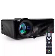 Pyle PRJLE33 Portable LED Projector, Bright, 20,000 hours- 1080p HD
