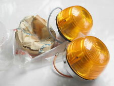Pair NOS Genuine OEM Honda Cub 90 C90 Front Winker Turn Signal Light Lamp Assy