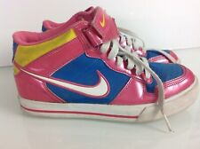 online store 984ef 9022b Authentic Nike Dunk SB High Tops In Metallic Pink, Blue   Yellow. VGC.
