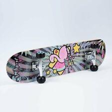 SMJ Kinder Mädchen Skateboard Board Komplettboard Holzboard ABEC5 31